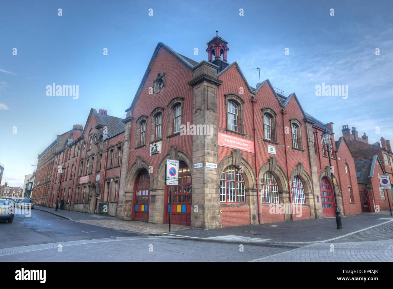 Old Fire Station. Birmingham - Stock Image