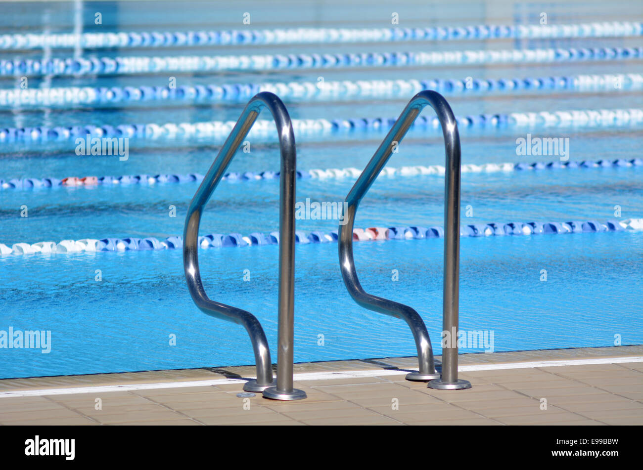 Swimming pool. Background texture. concept photo water, sport, swimming. - Stock Image