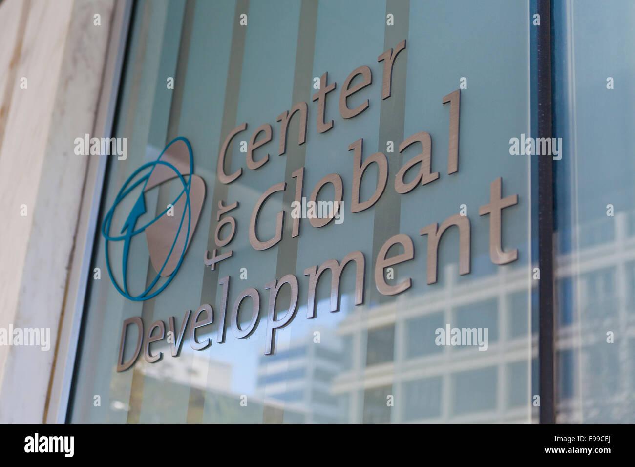 Center for Global Development (CDG) building - Washington, DC USA - Stock Image