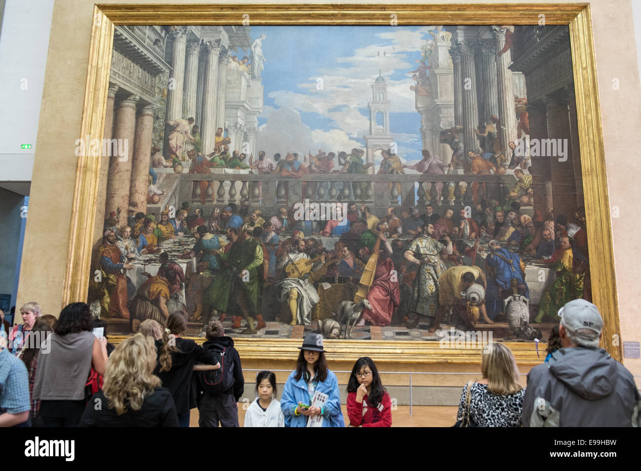 Huge Painting Quot The Wedding Feast At Cana Quot By Veronese On
