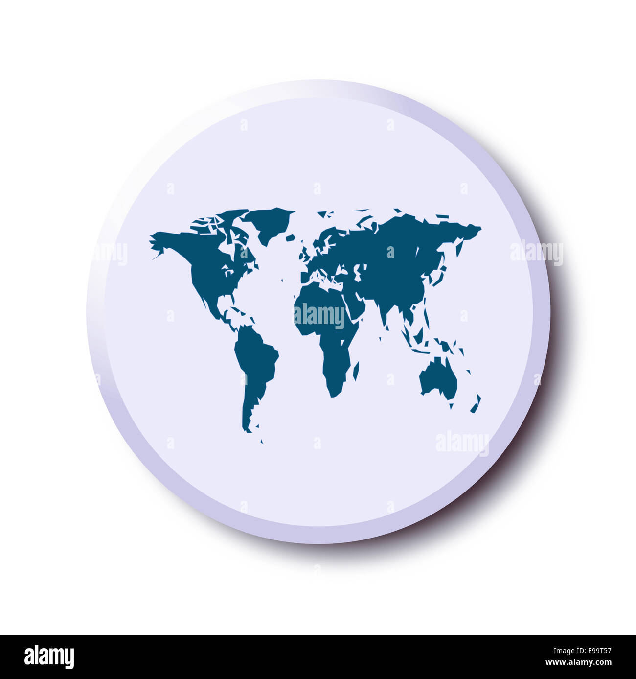 button graphic - Stock Image