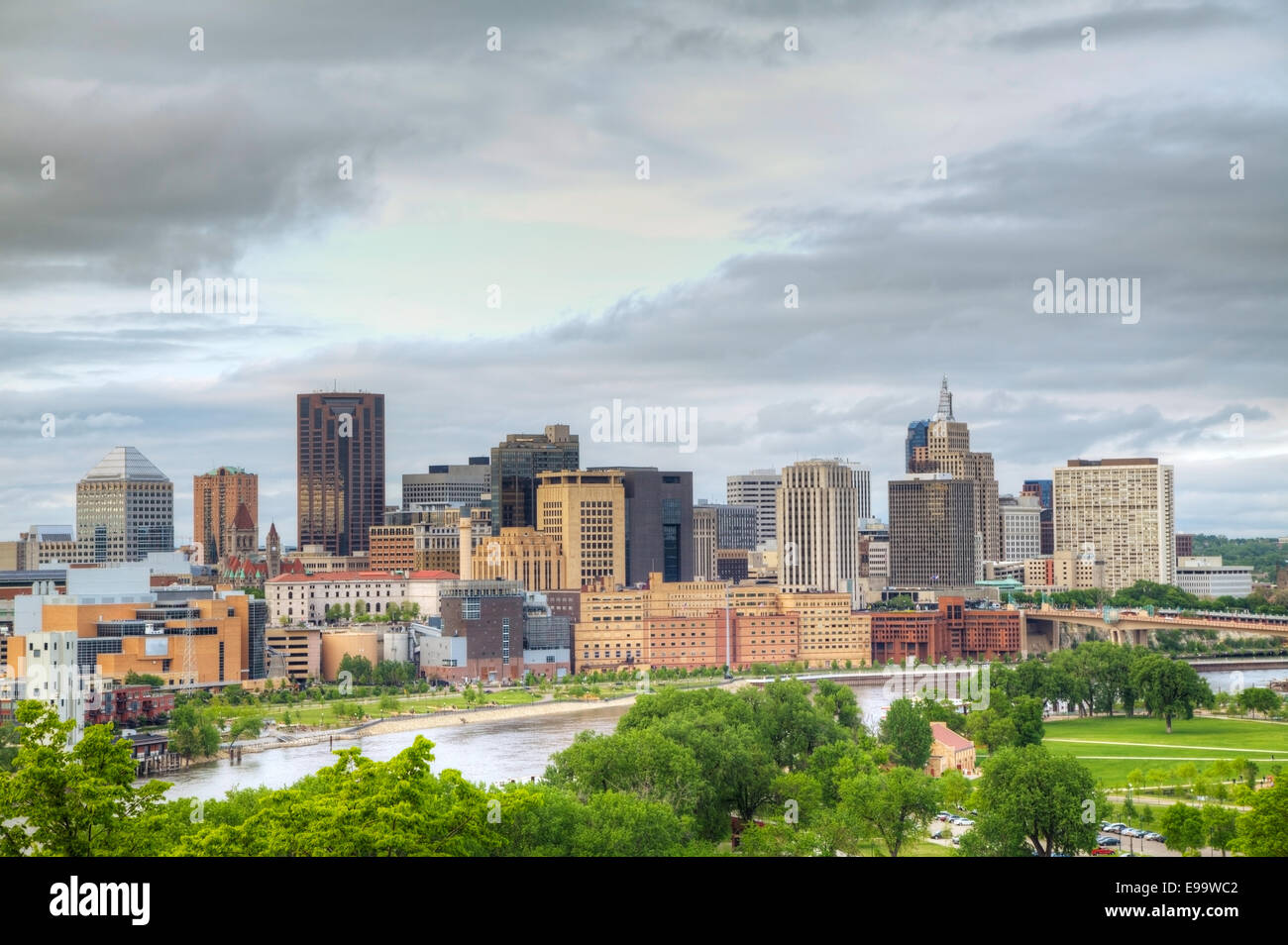 Downtown St. Paul, MN - Stock Image