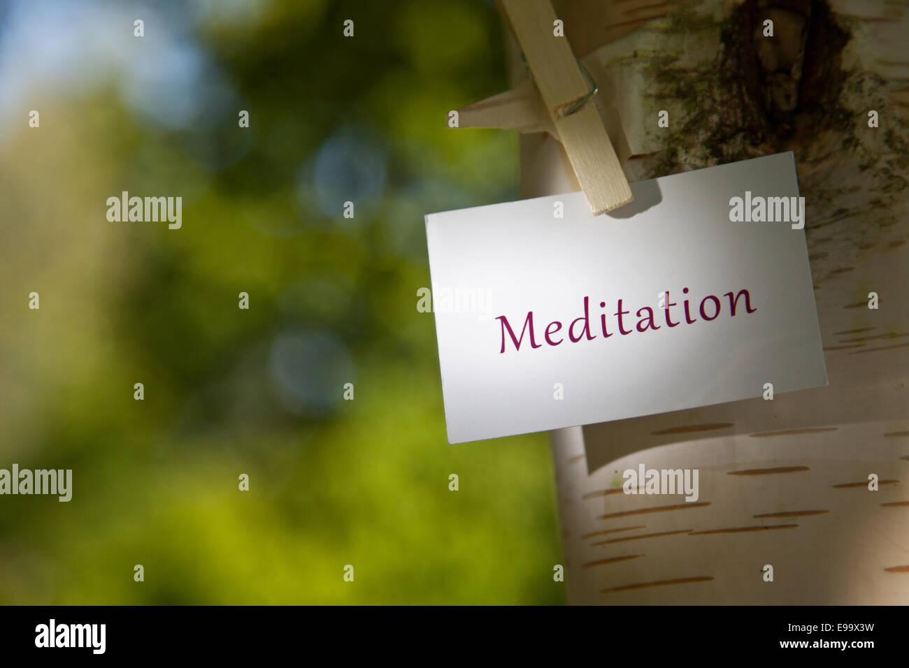 meditation paper