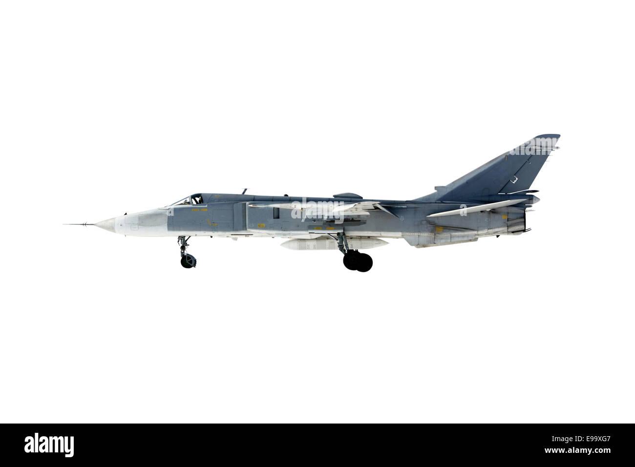 Su-24 Fencer - Stock Image