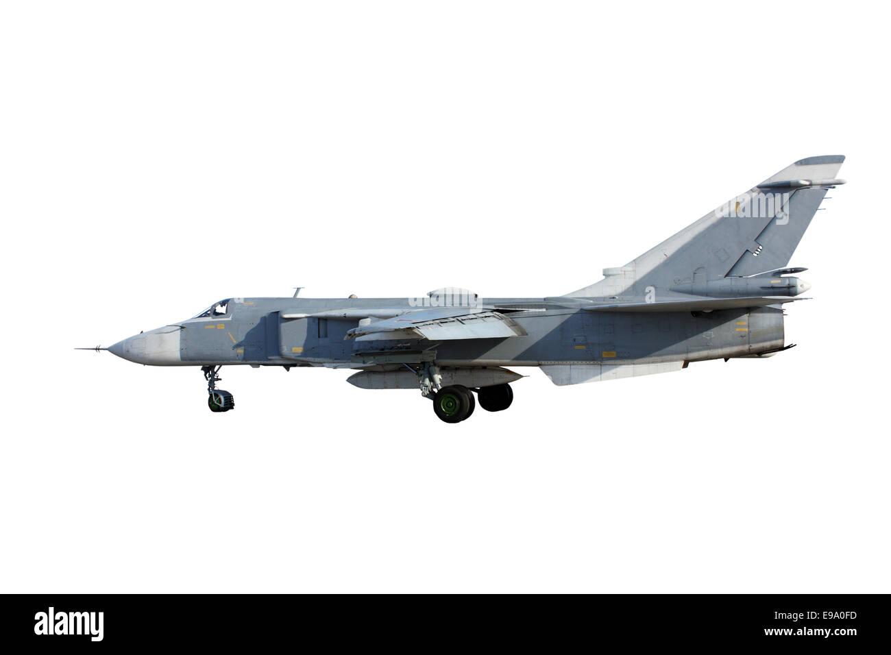 Su-24 Fencer on take off - Stock Image