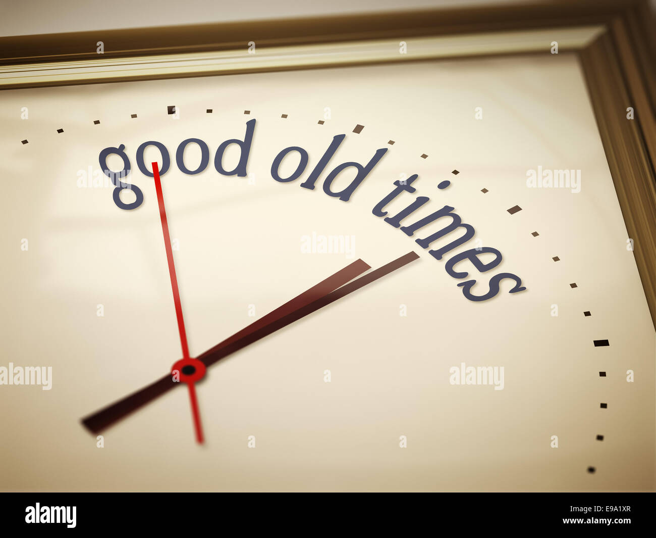 good old times - Stock Image