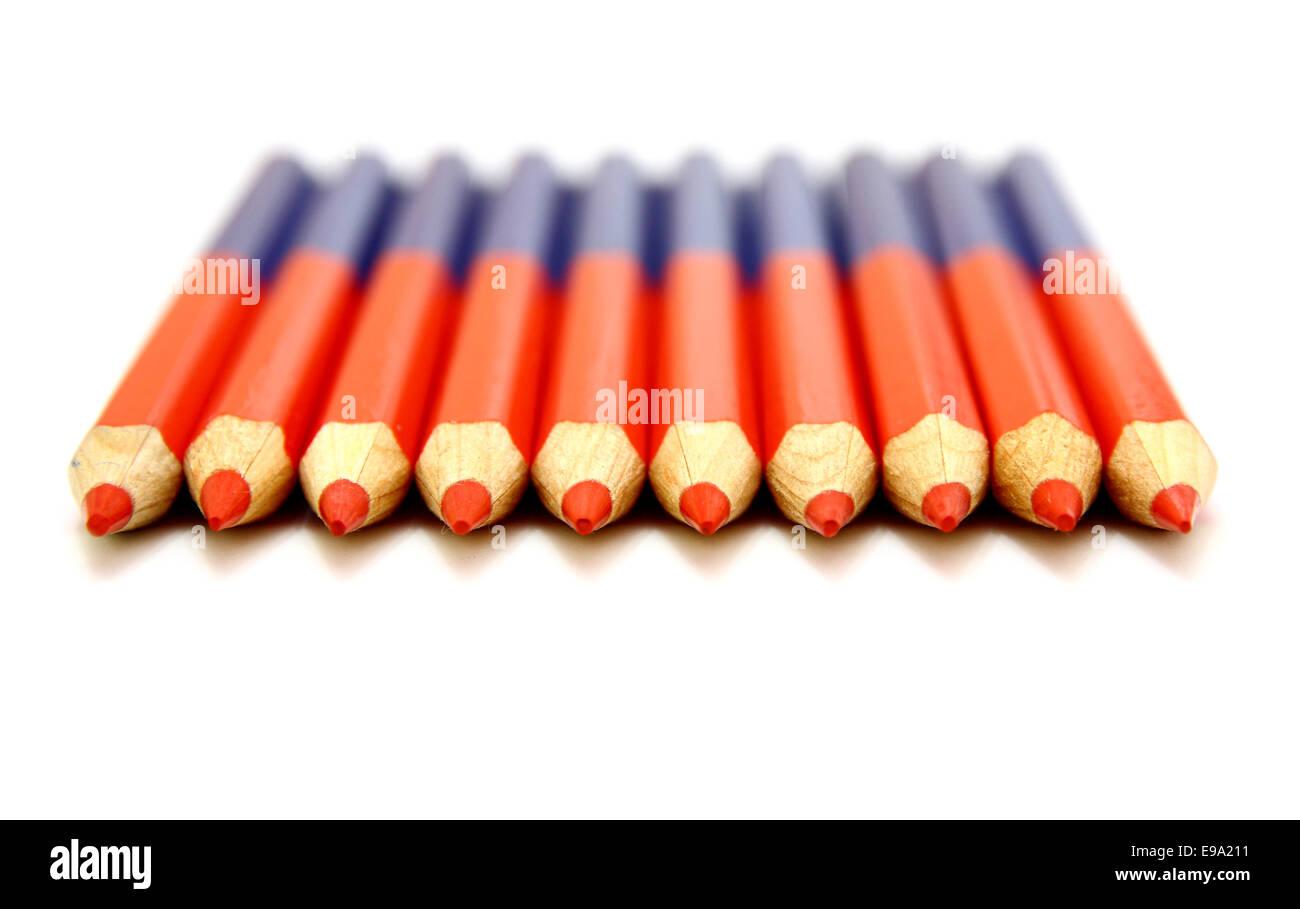 Colour pencils - Stock Image