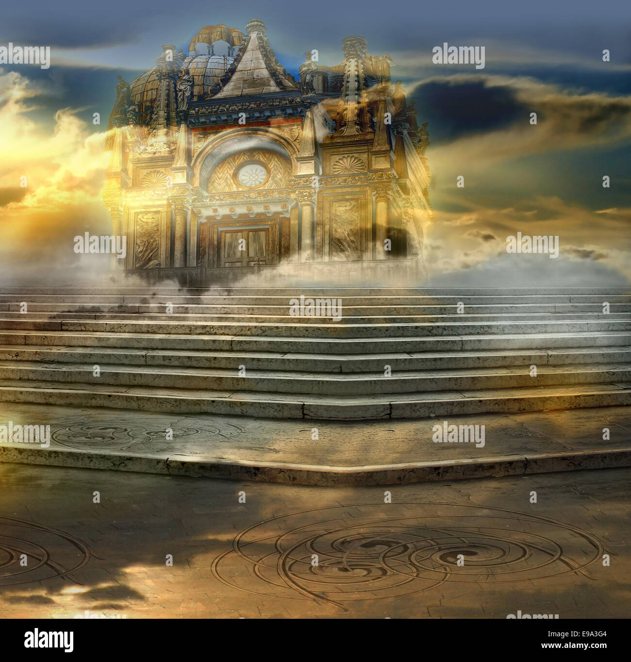 The celestial palace - Stock Image