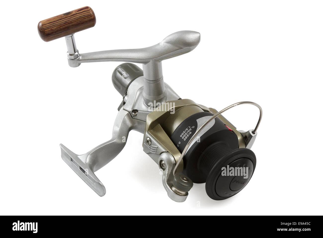 Fishing Reel - Stock Image