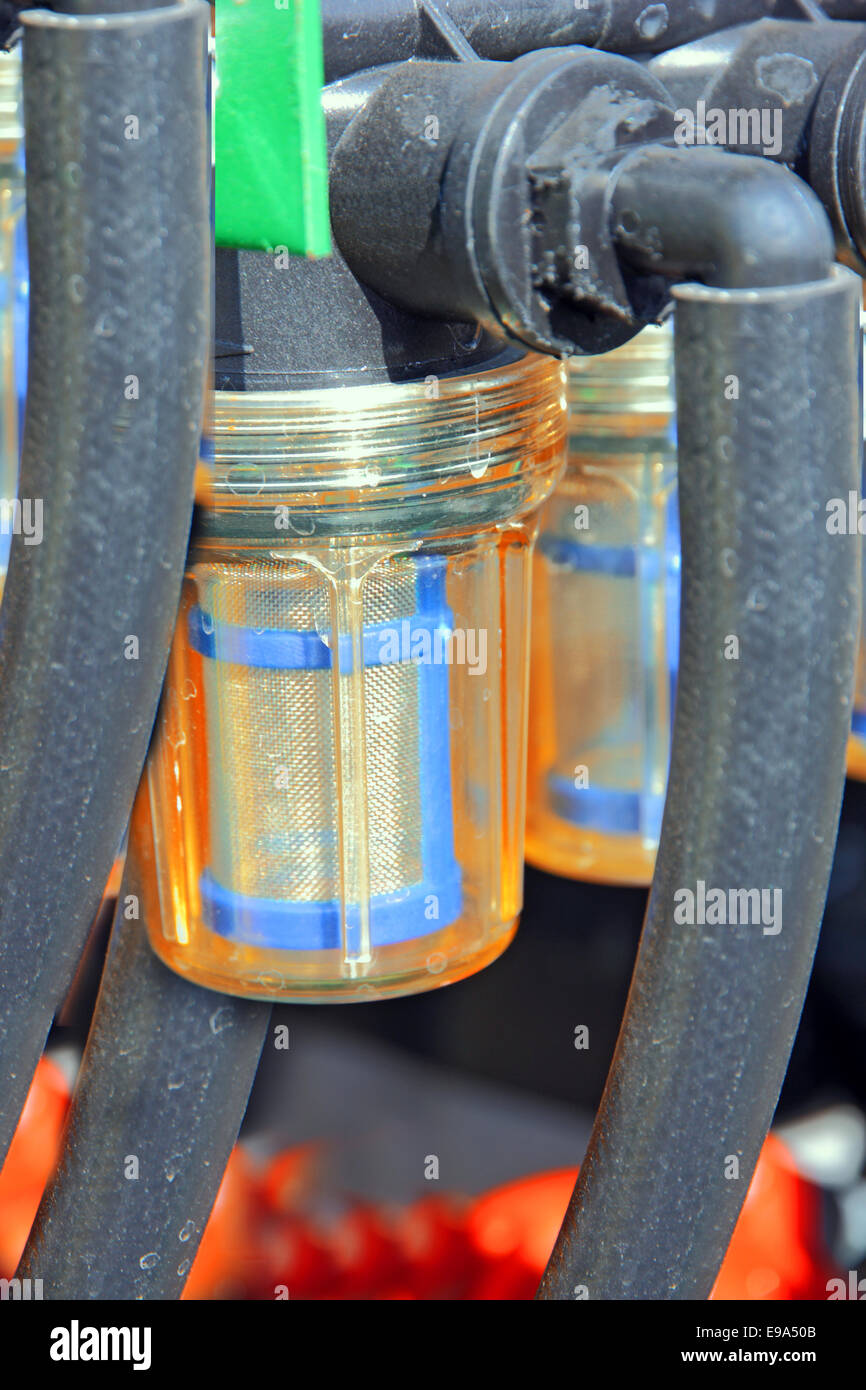 Fuel Filters And Hoses Engine Stock Photo 74596827 Alamy
