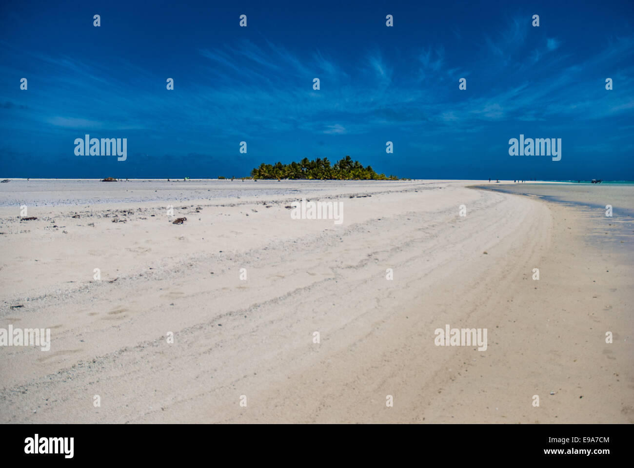 Aitutaki - Stock Image