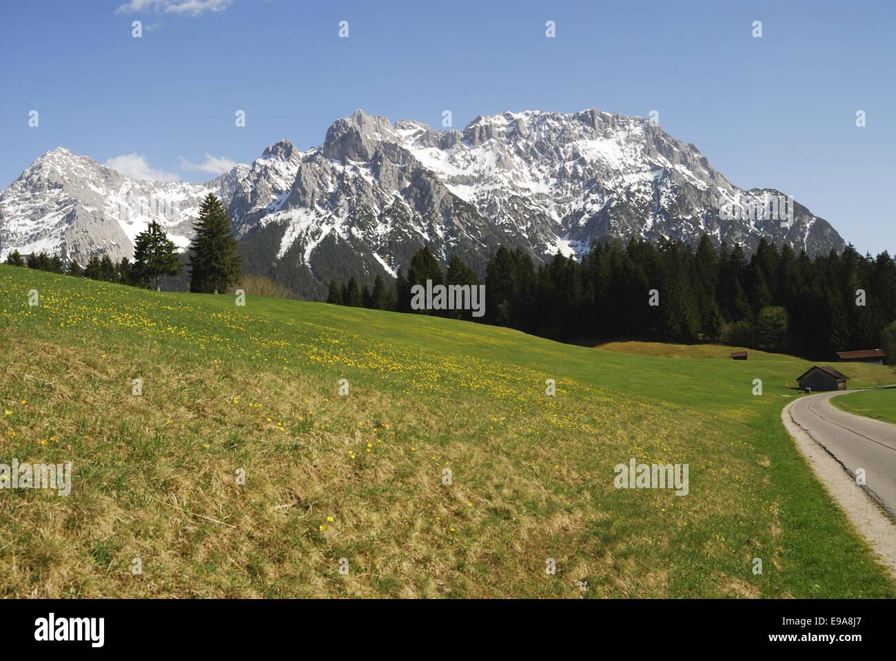 Karwendel mountains - Stock Image