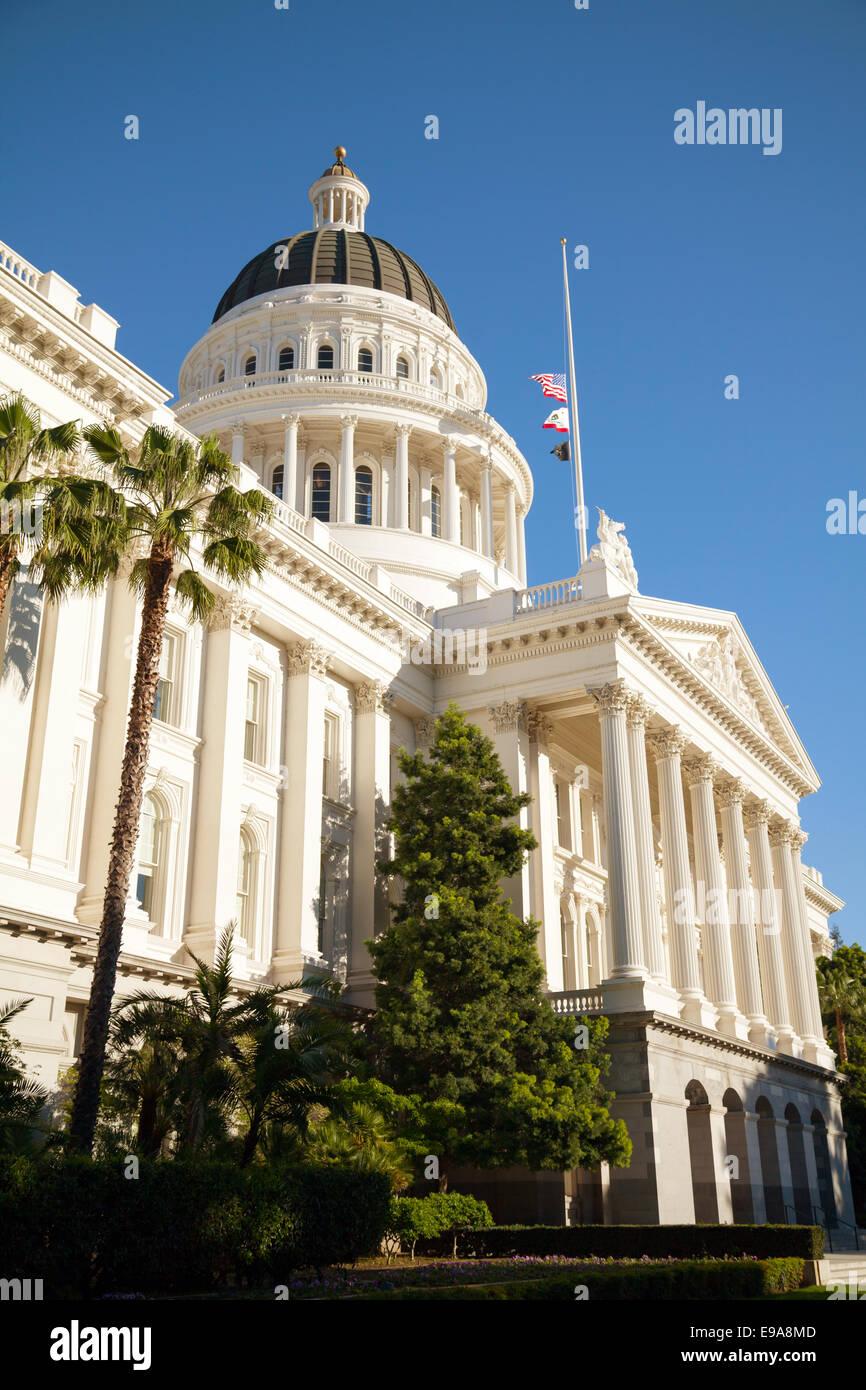Capitol building in Sacramento, California - Stock Image