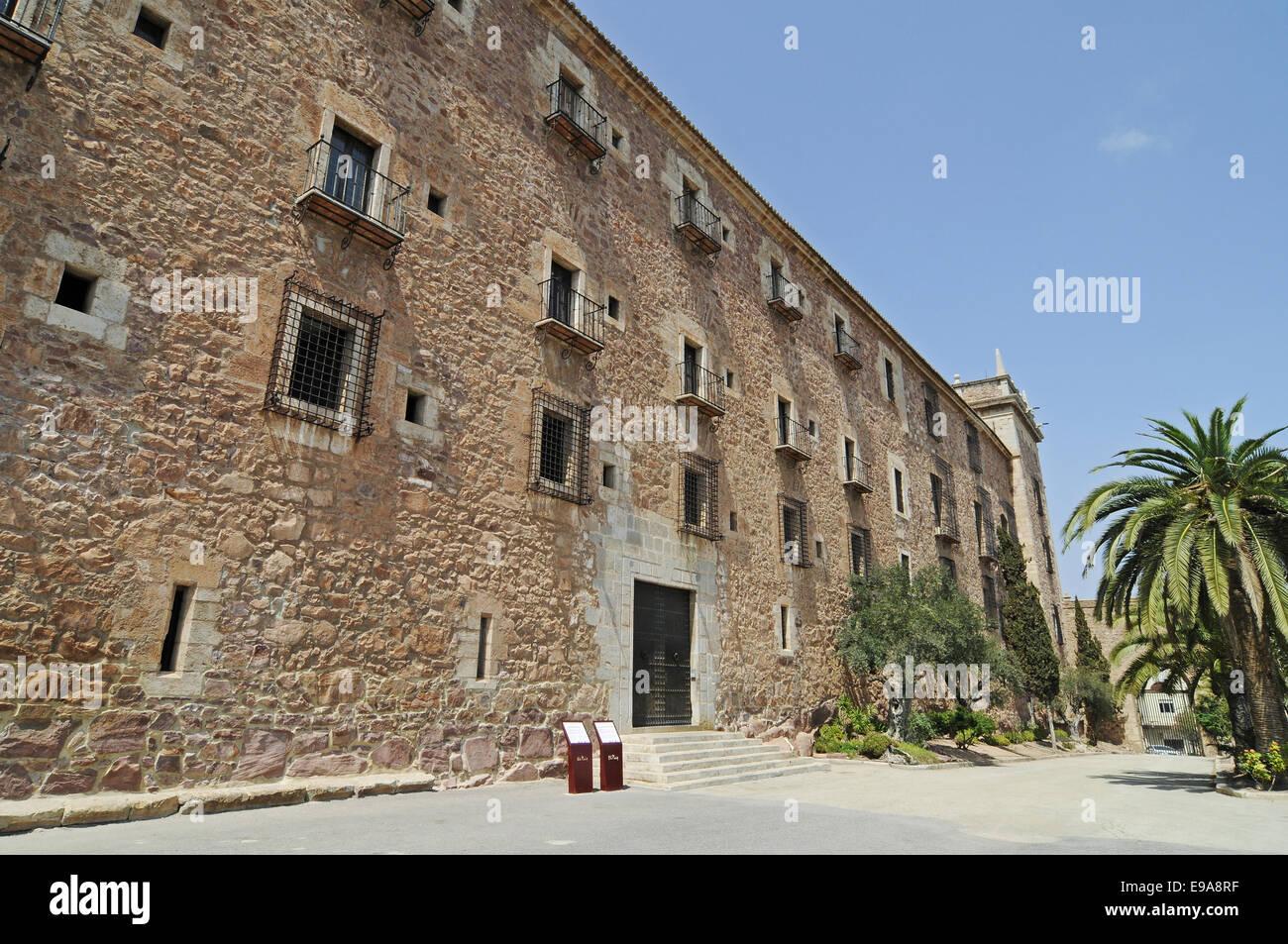 Santa Maria monastery, El Puig, Spain - Stock Image