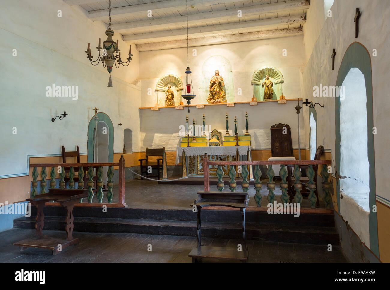 La Purisima Conception mission CA - Stock Image
