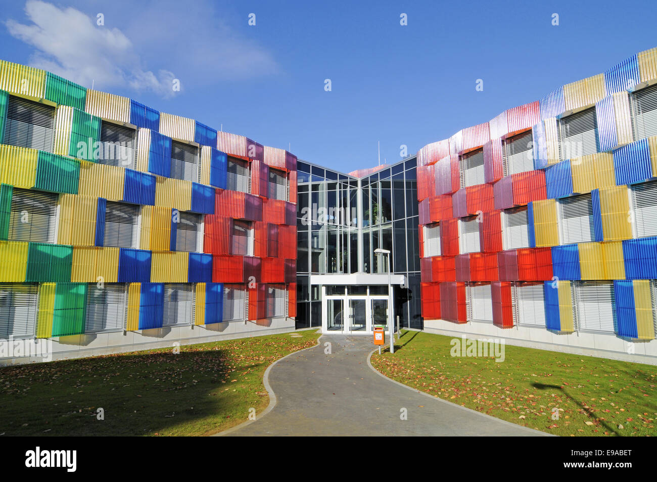 Athenee college, Luxembourg Stock Photo