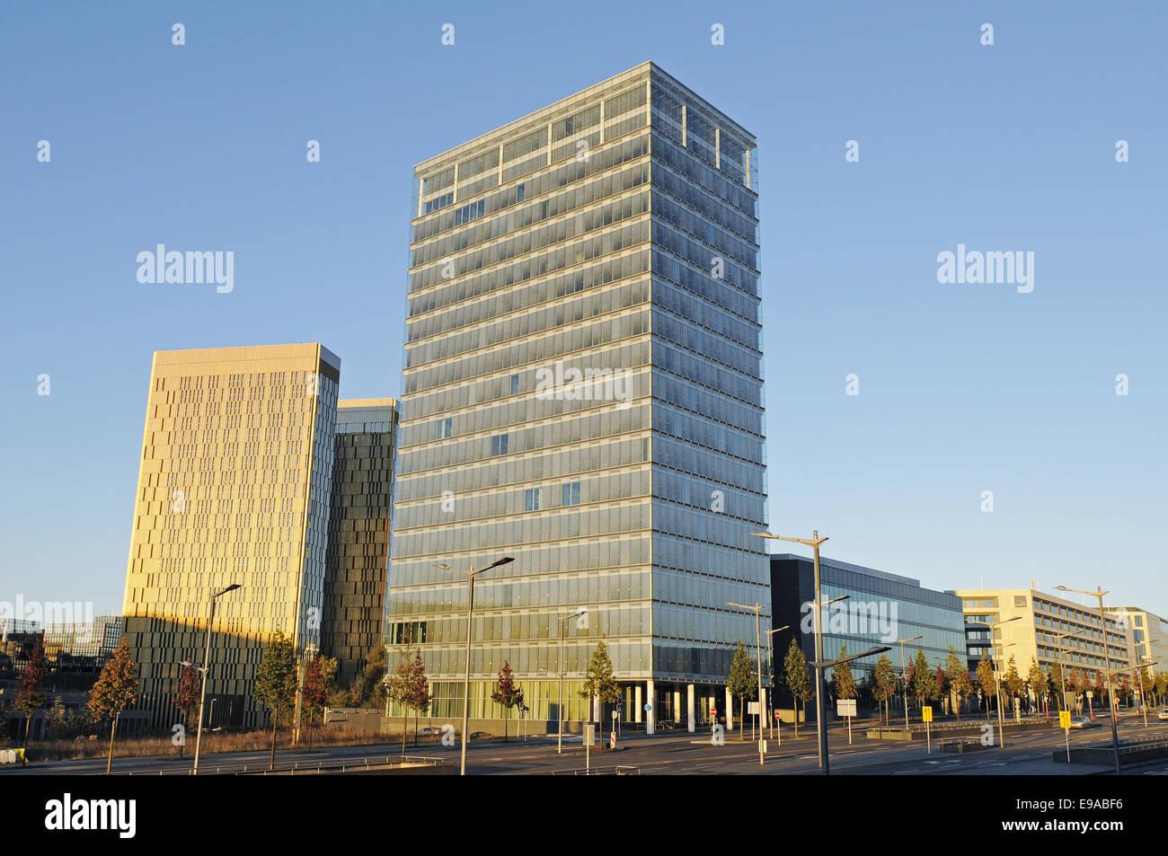 Kirchberg area, Luxembourg - Stock Image