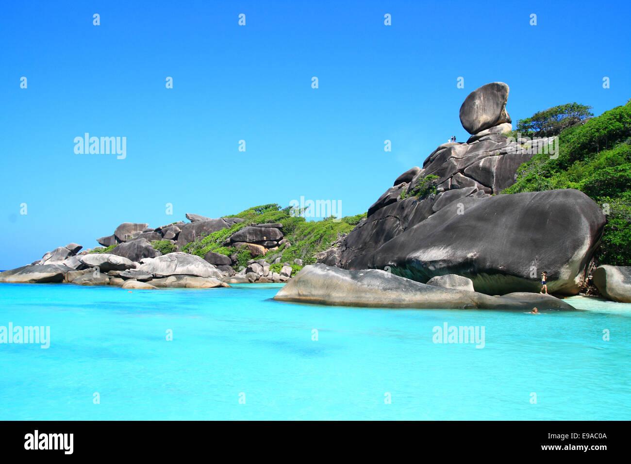 Similan National Park Andaman Sea Thailand - Stock Image