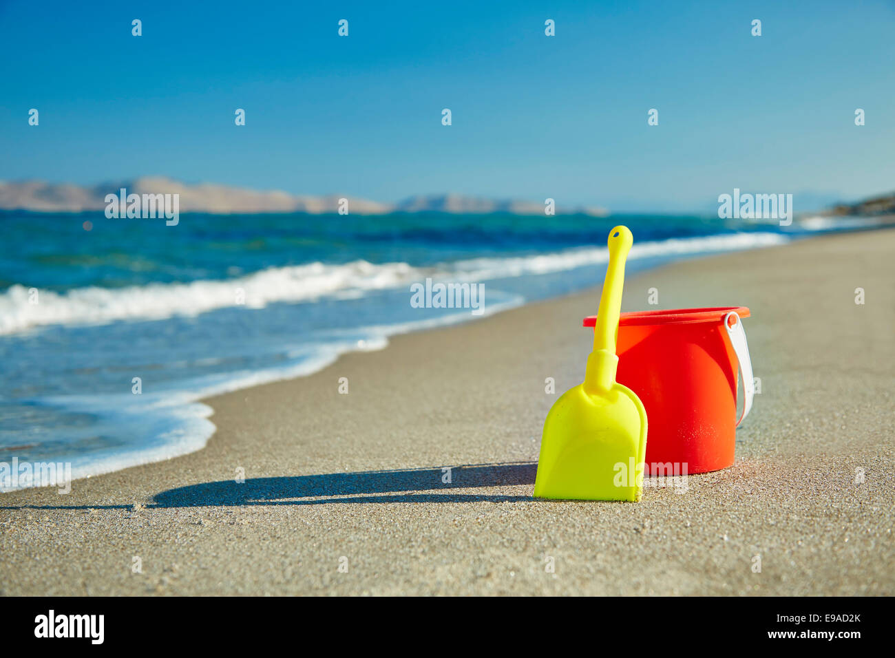 Bucket and Spade - Stock Image