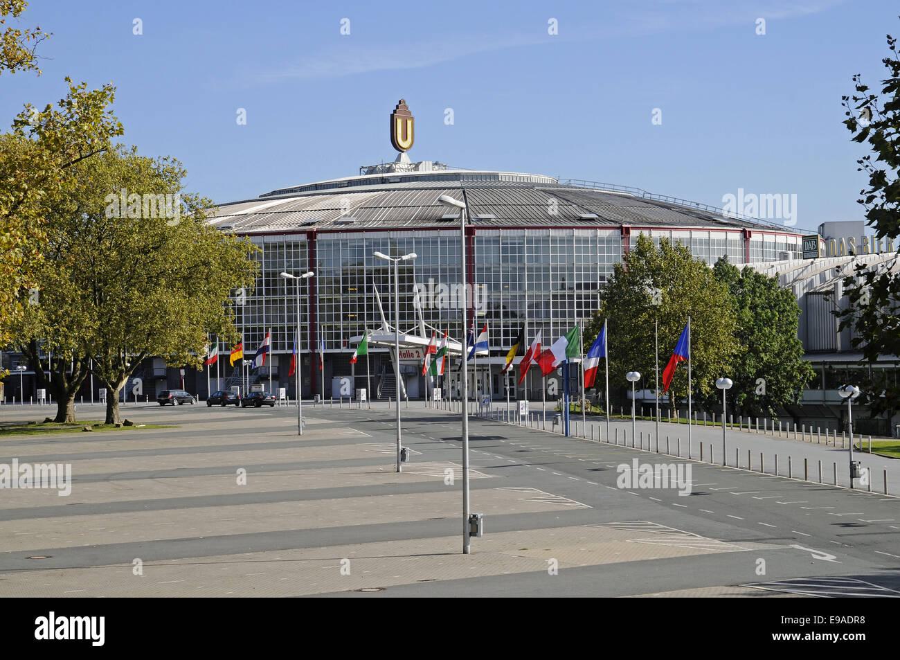 Westfalenhallen, Dortmund, Germany - Stock Image