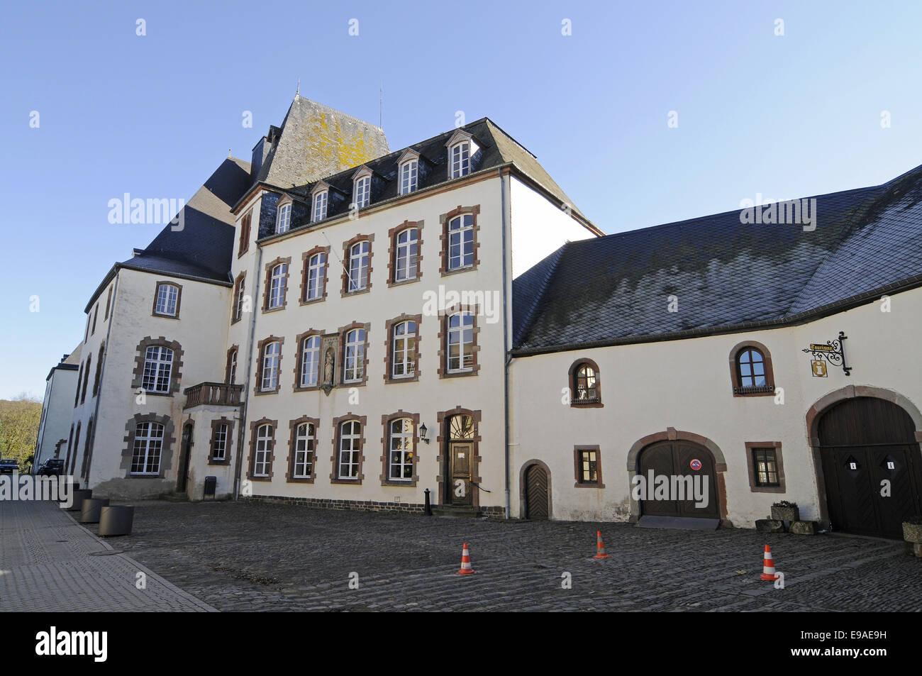 castle, Wiltz, Luxembourg Stock Photo