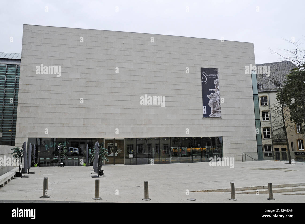 museum of history and art, Luxembourg Stock Photo