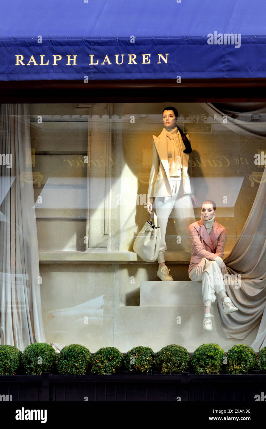 London, England, UK. Ralph Lauren shop in Bond Street - Stock Image