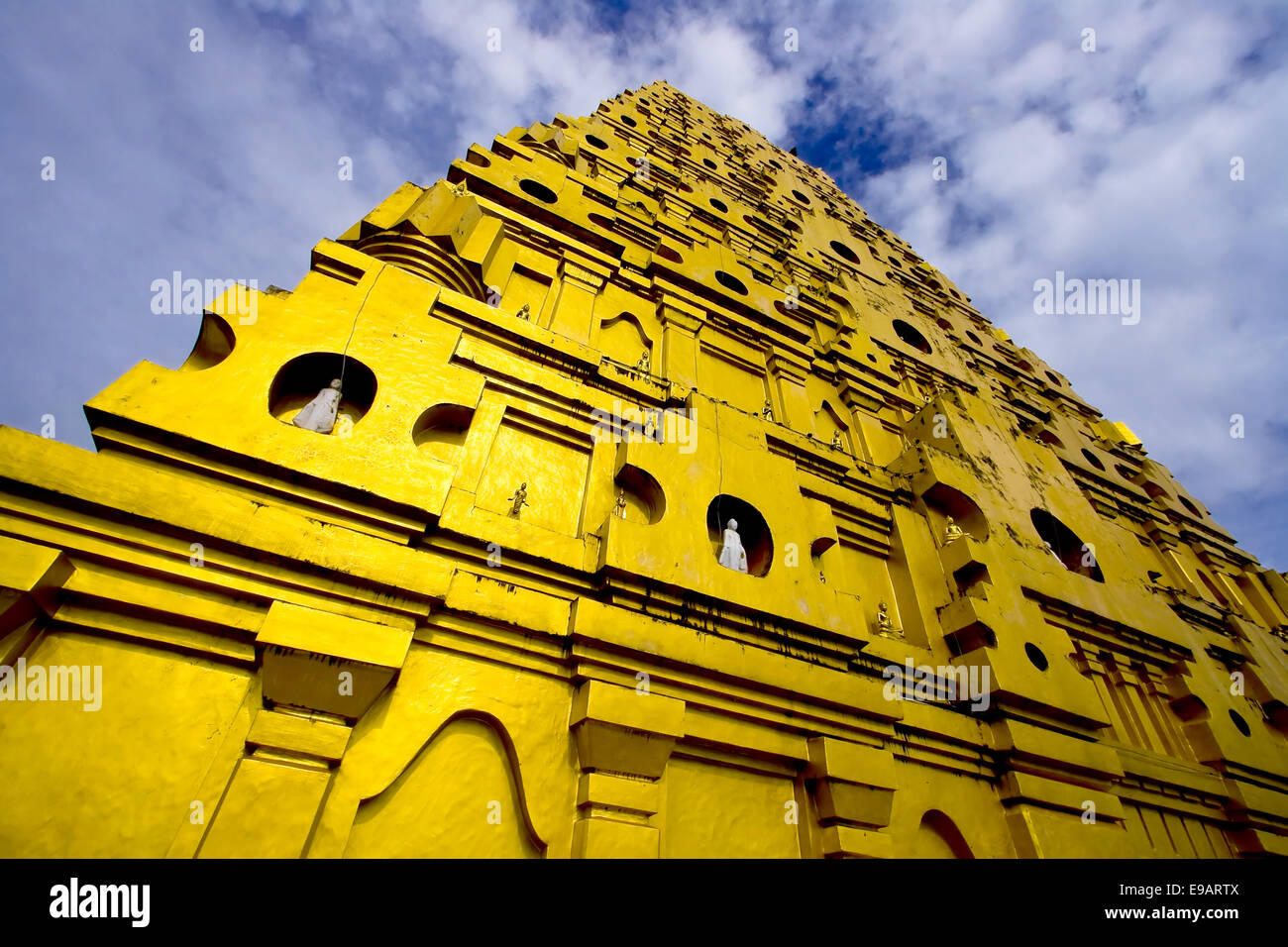 Indian Style Temple - Stock Image
