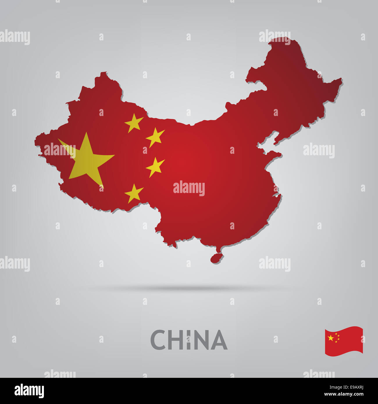 country china - Stock Image