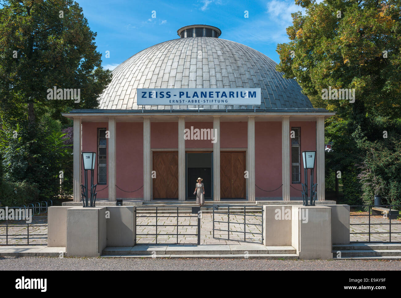 Zeiss Planetarium, Jena, Thuringia, Germany - Stock Image