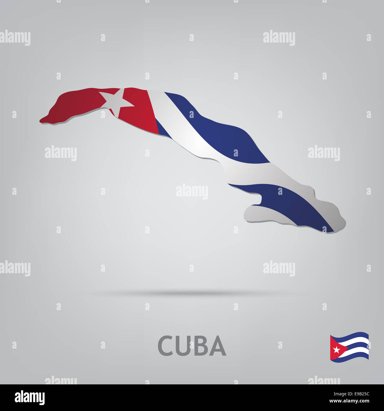 country cuba - Stock Image