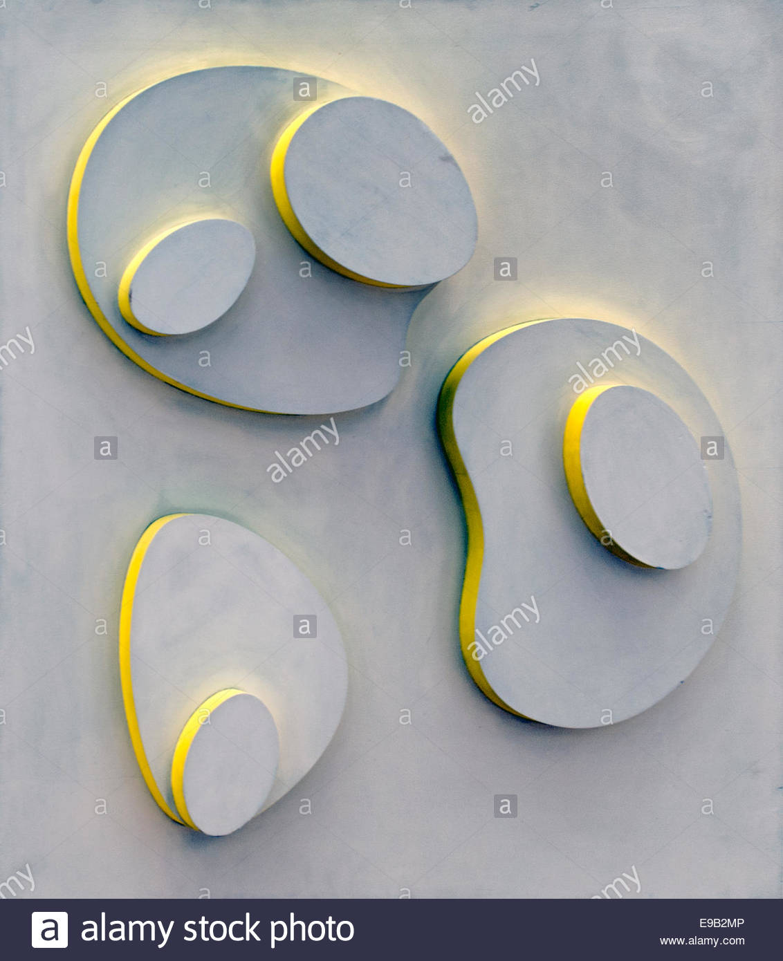 Objects Célestes -Celestial Objects 1962  Jean Arp ( Hans Arp  ) 1886 - 1966 French France born Germany - Stock Image