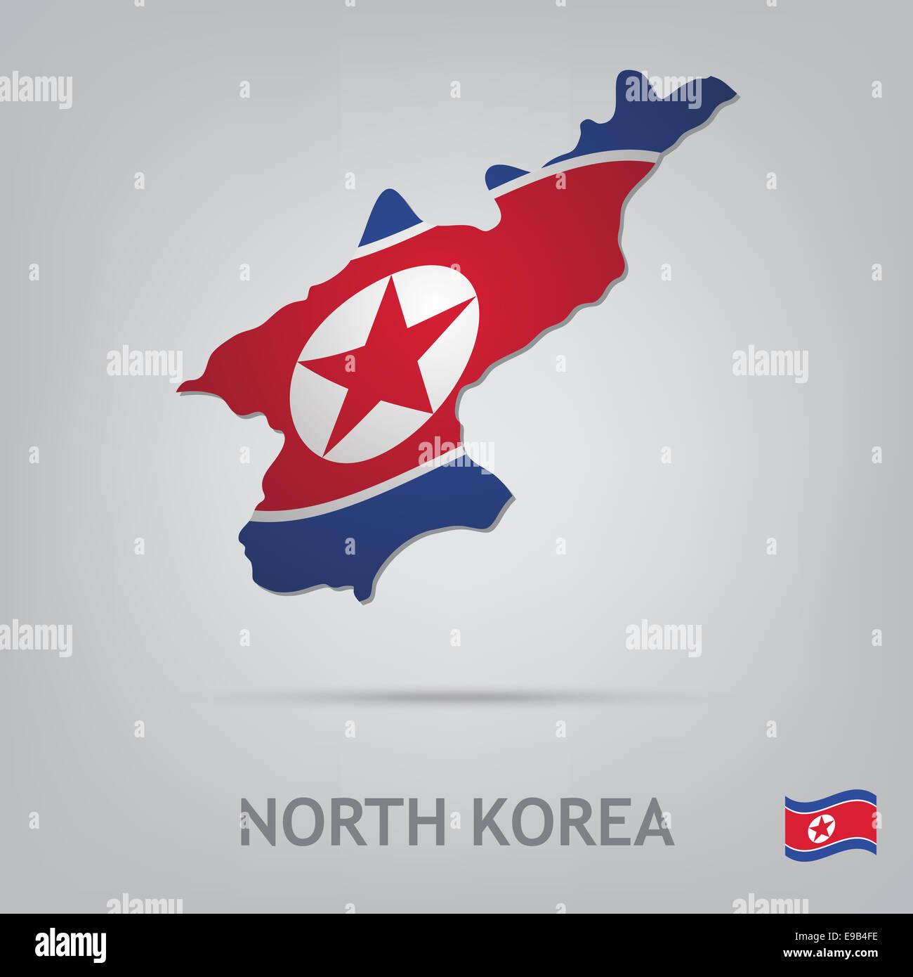 north korea - Stock Image