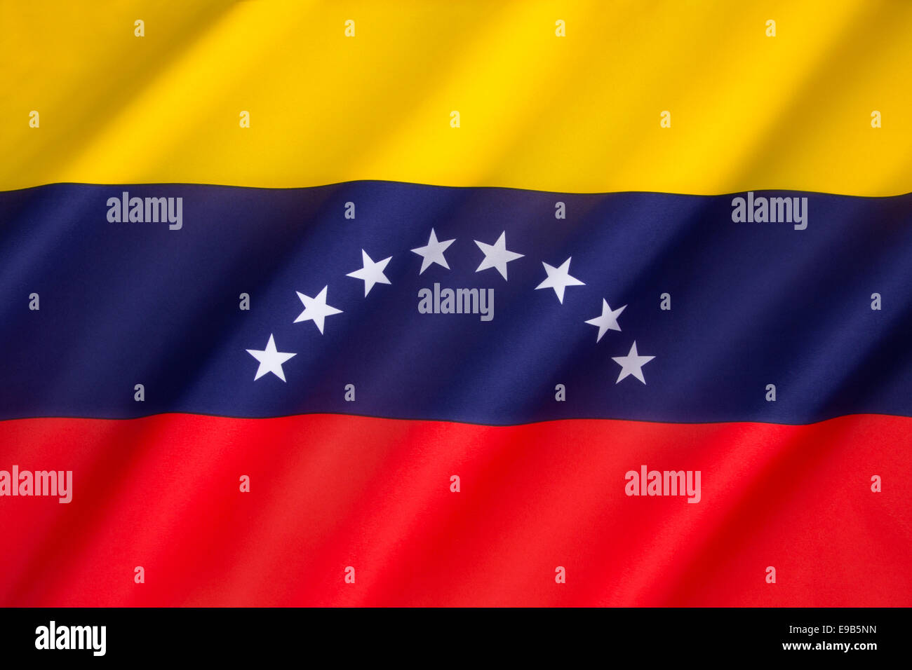 Flag of Venezuela - Stock Image
