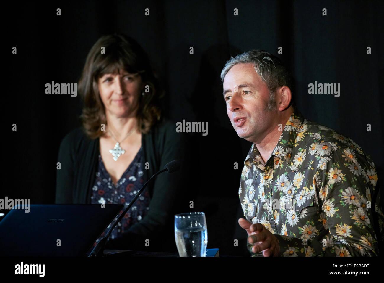 Emma BridgeWater & Matthew Rice Stock Photo