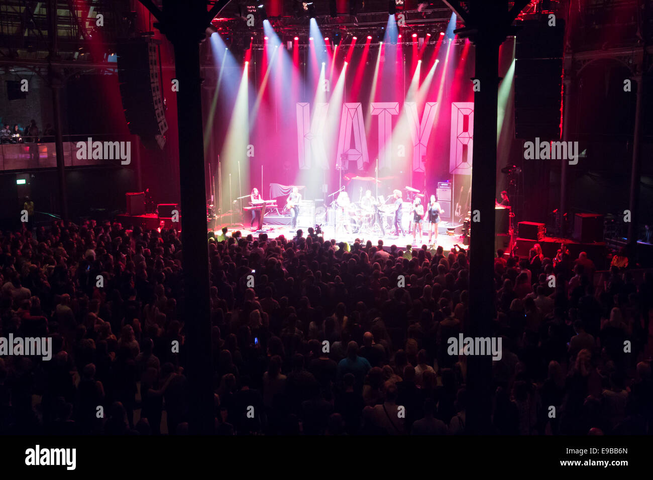 Becky Hill Live Performance - Roundhouse Venue - Camden - London - Stock Image