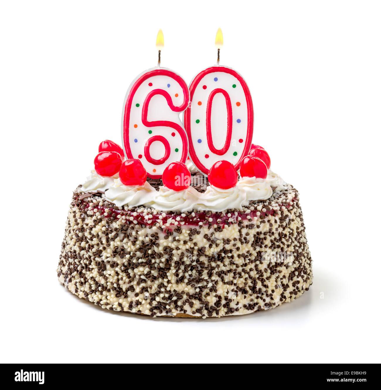 60th Birthday Cake Stock Photos 60th Birthday Cake Stock Images