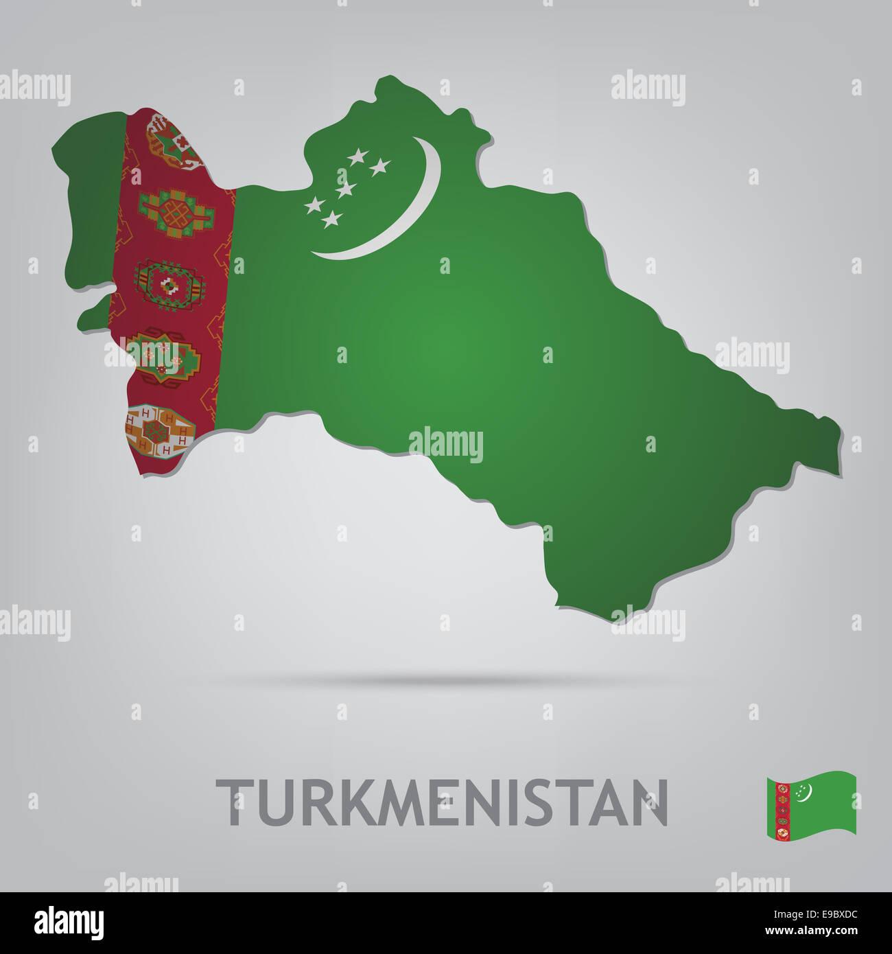 turkmenistan - Stock Image
