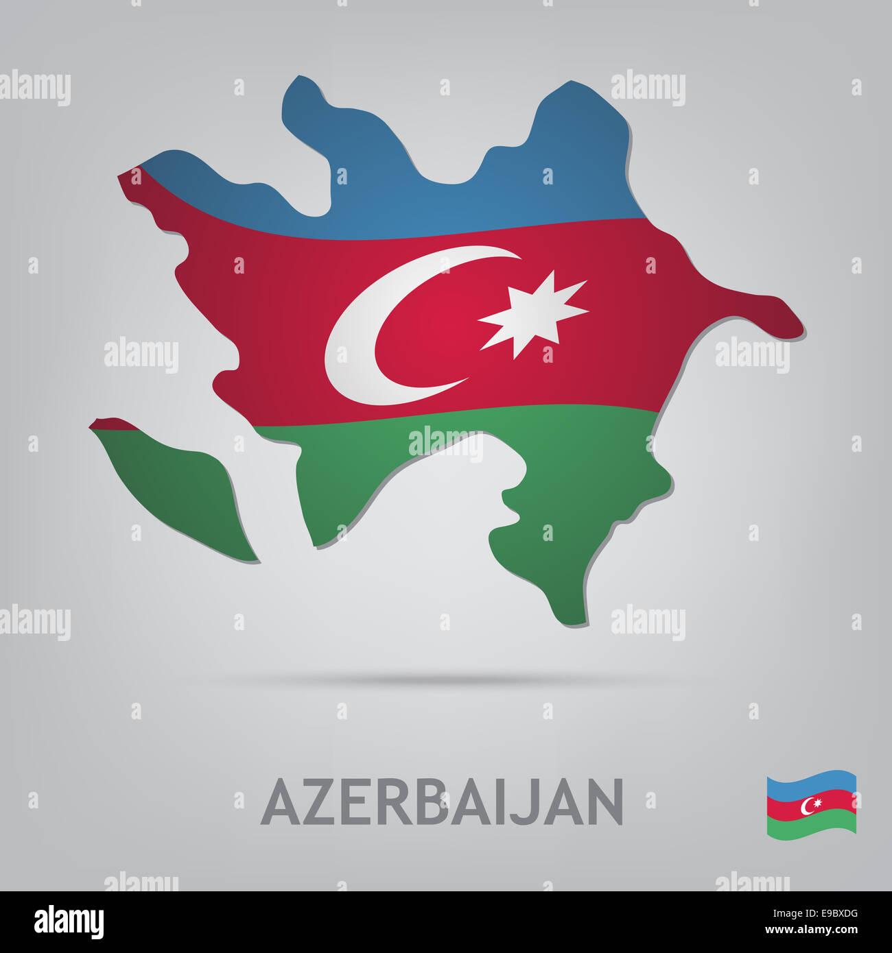 azerbaijan - Stock Image