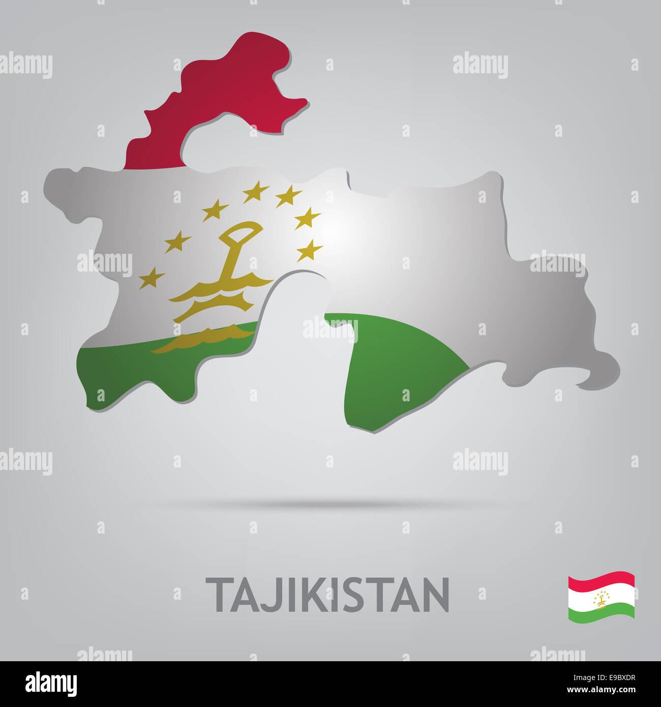 tajikistan - Stock Image