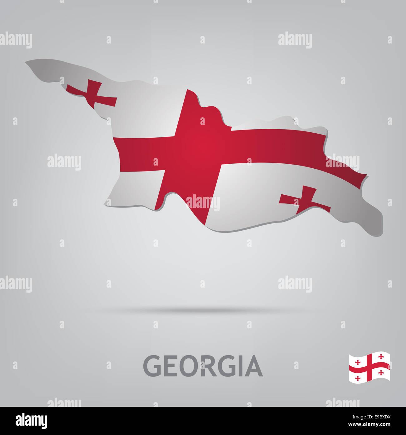 georgia - Stock Image