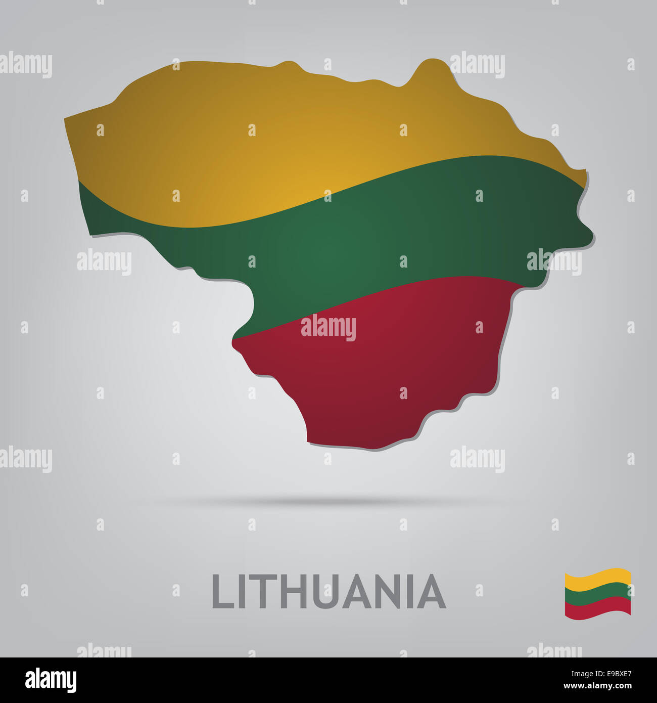lithuania - Stock Image