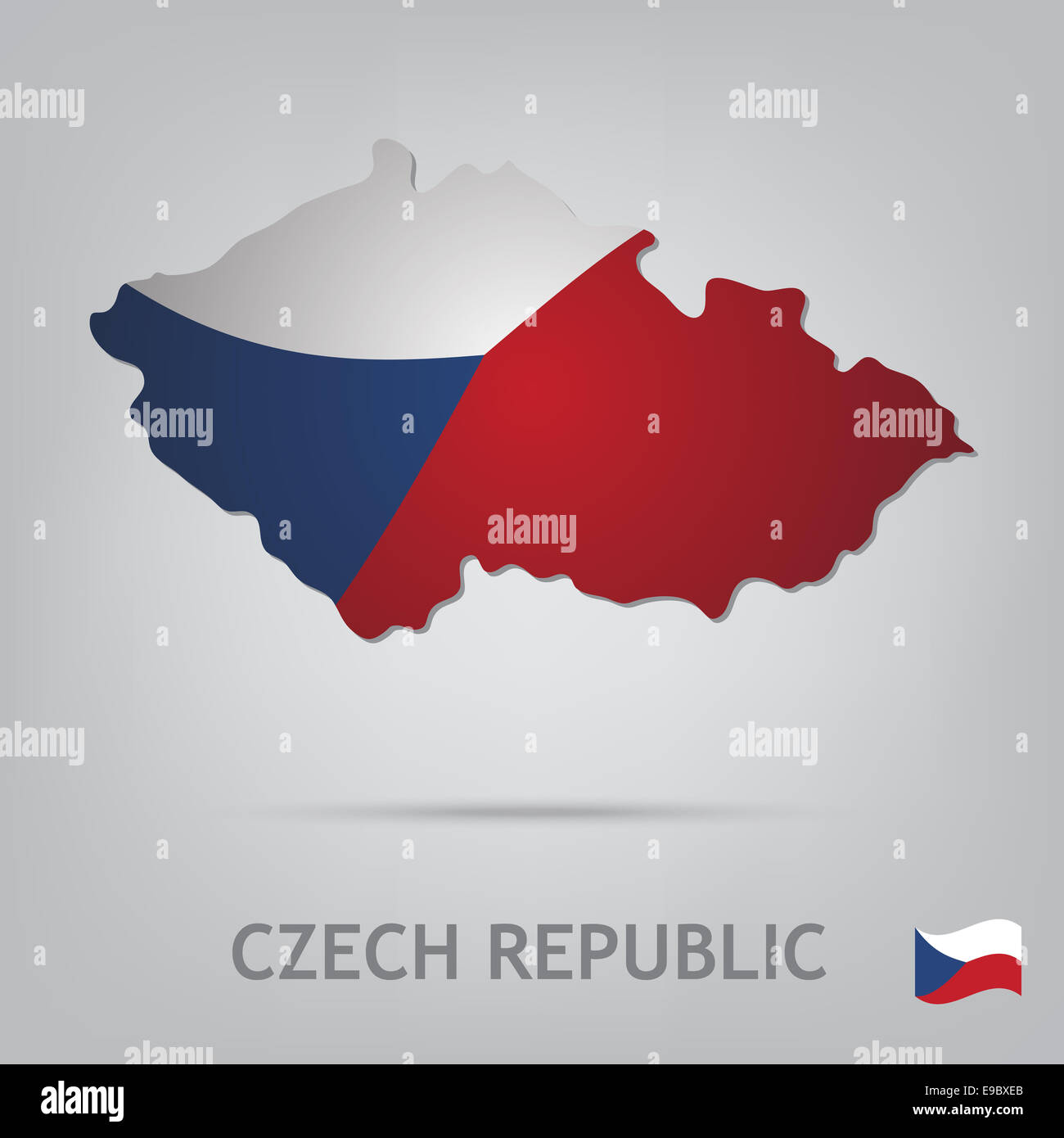 czech republic - Stock Image