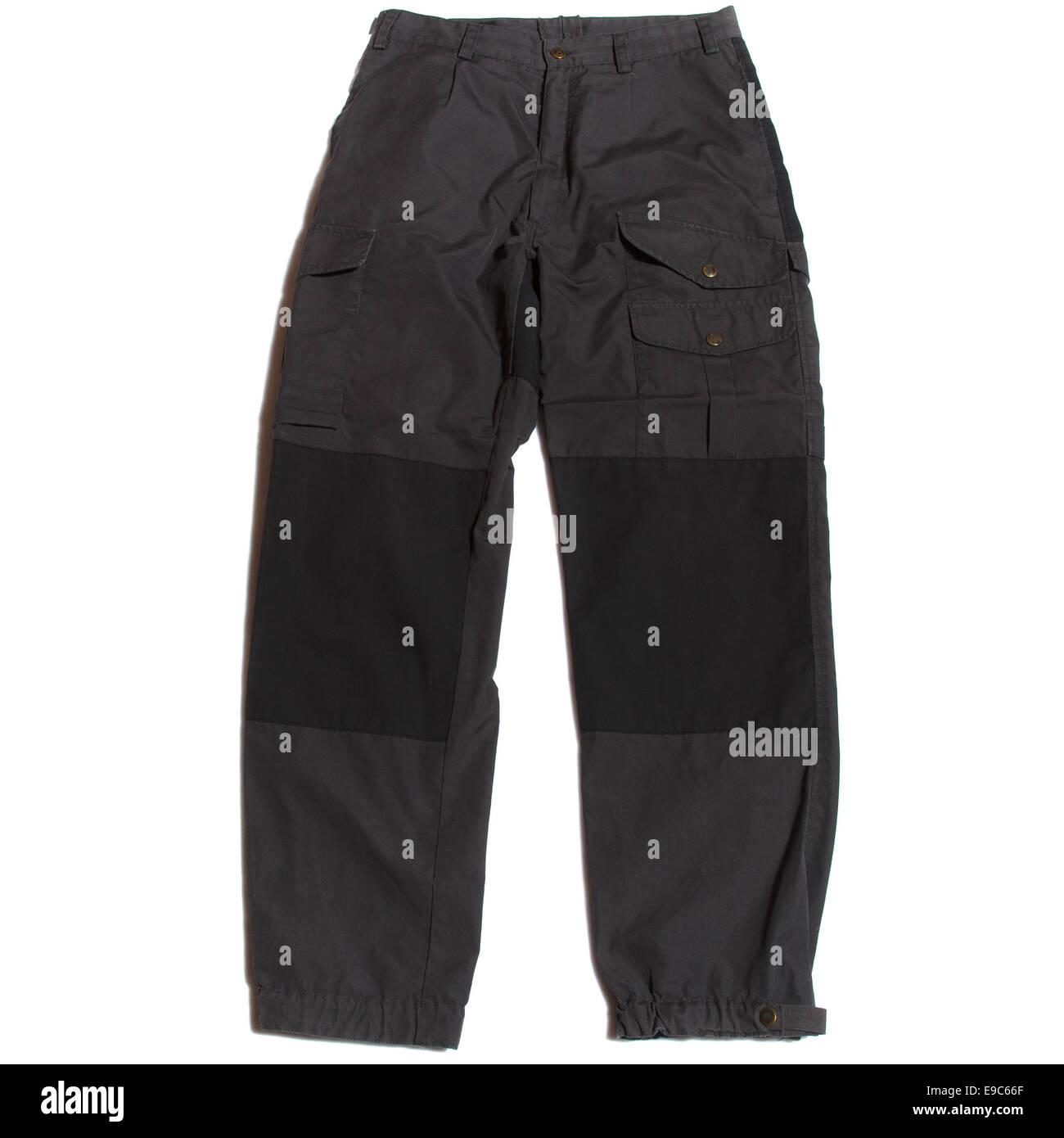 walking trousers - Stock Image