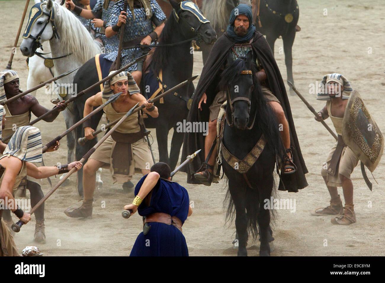 EXODUS: GODS AND KINGS (2014)  CHRISTIAN BALE  RIDLEY SCOTT (DIR) - Stock Image