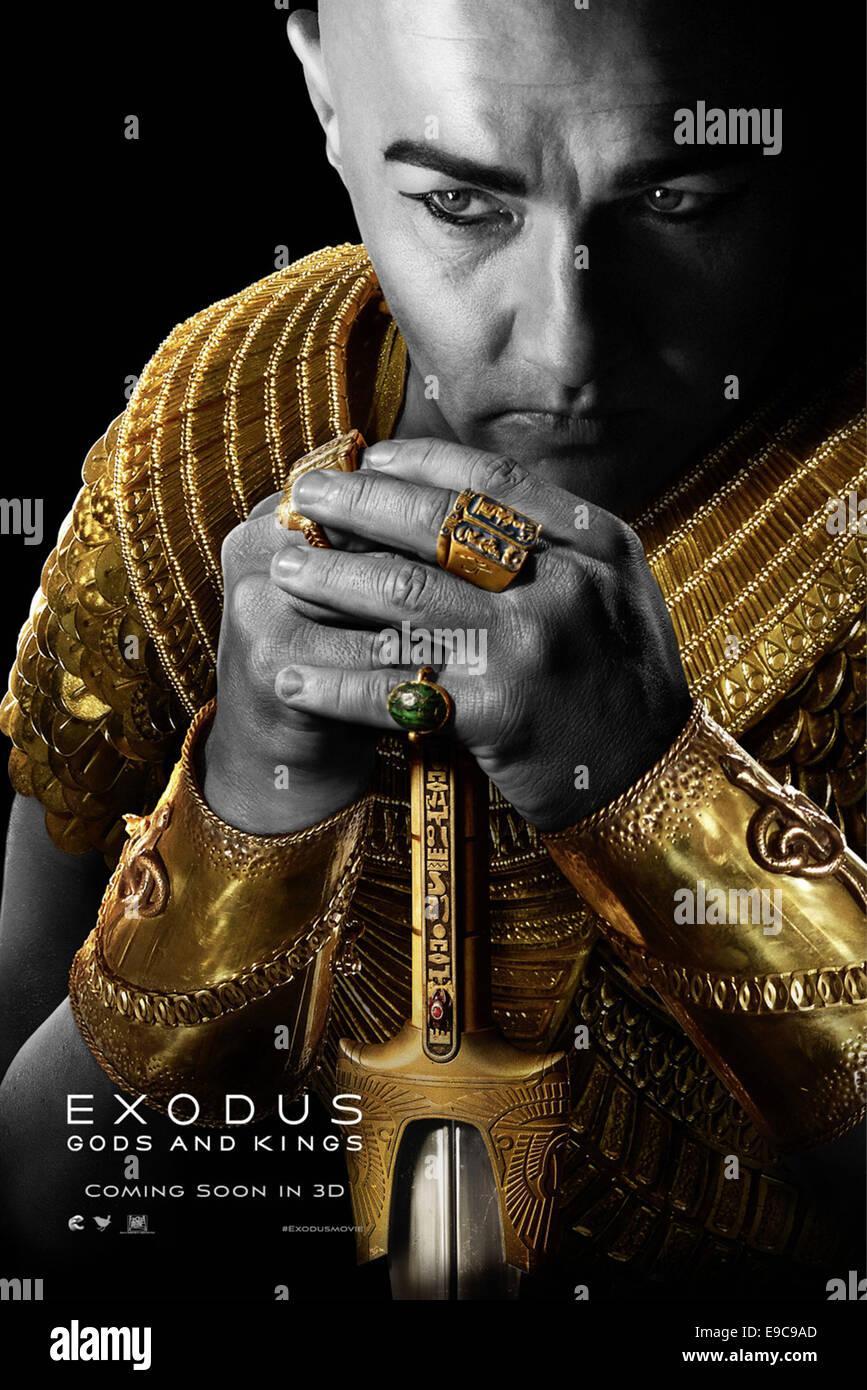 EXODUS: GODS AND KINGS (POSTER) (2014)  JOEL EDGERTON  RIDLEY SCOTT (DIR) - Stock Image