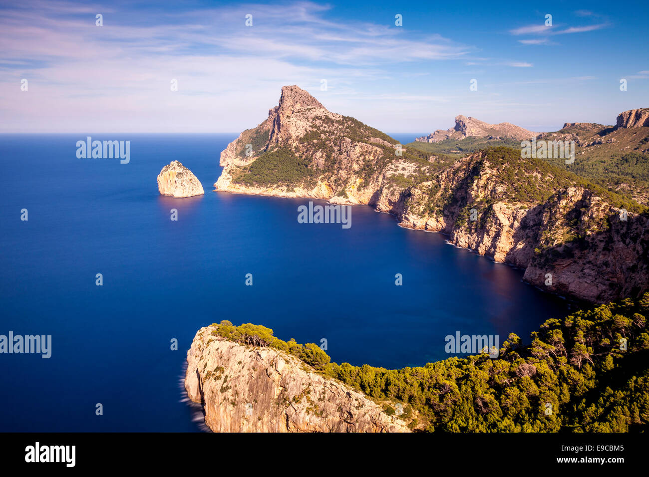 Formentor Viewpoint, Mallorca - Spain - Stock Image