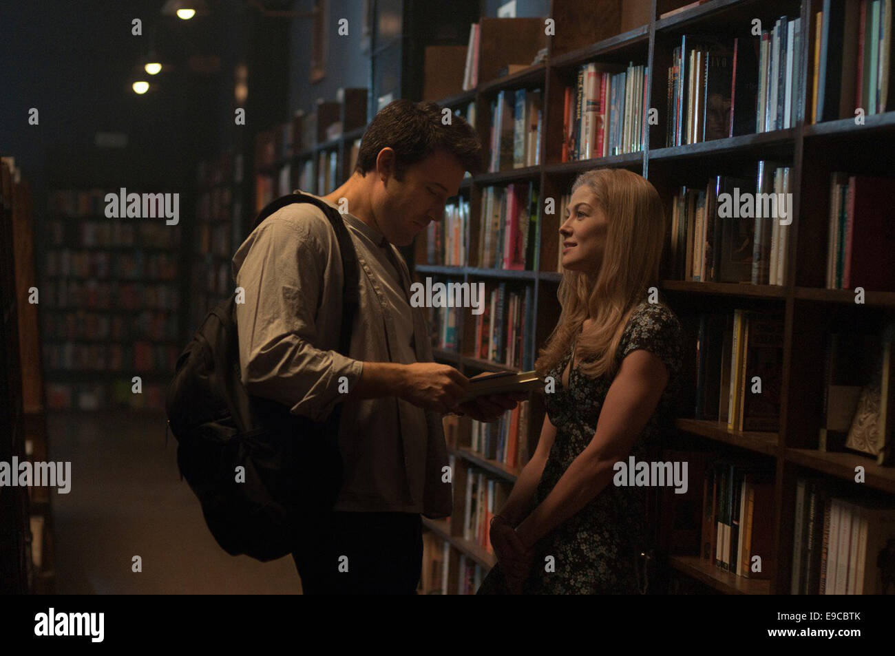 GONE GIRL (2014)   BEN AFFLECK, ROSAMUND PIKE  DAVID FINCHER (DIR) - Stock Image