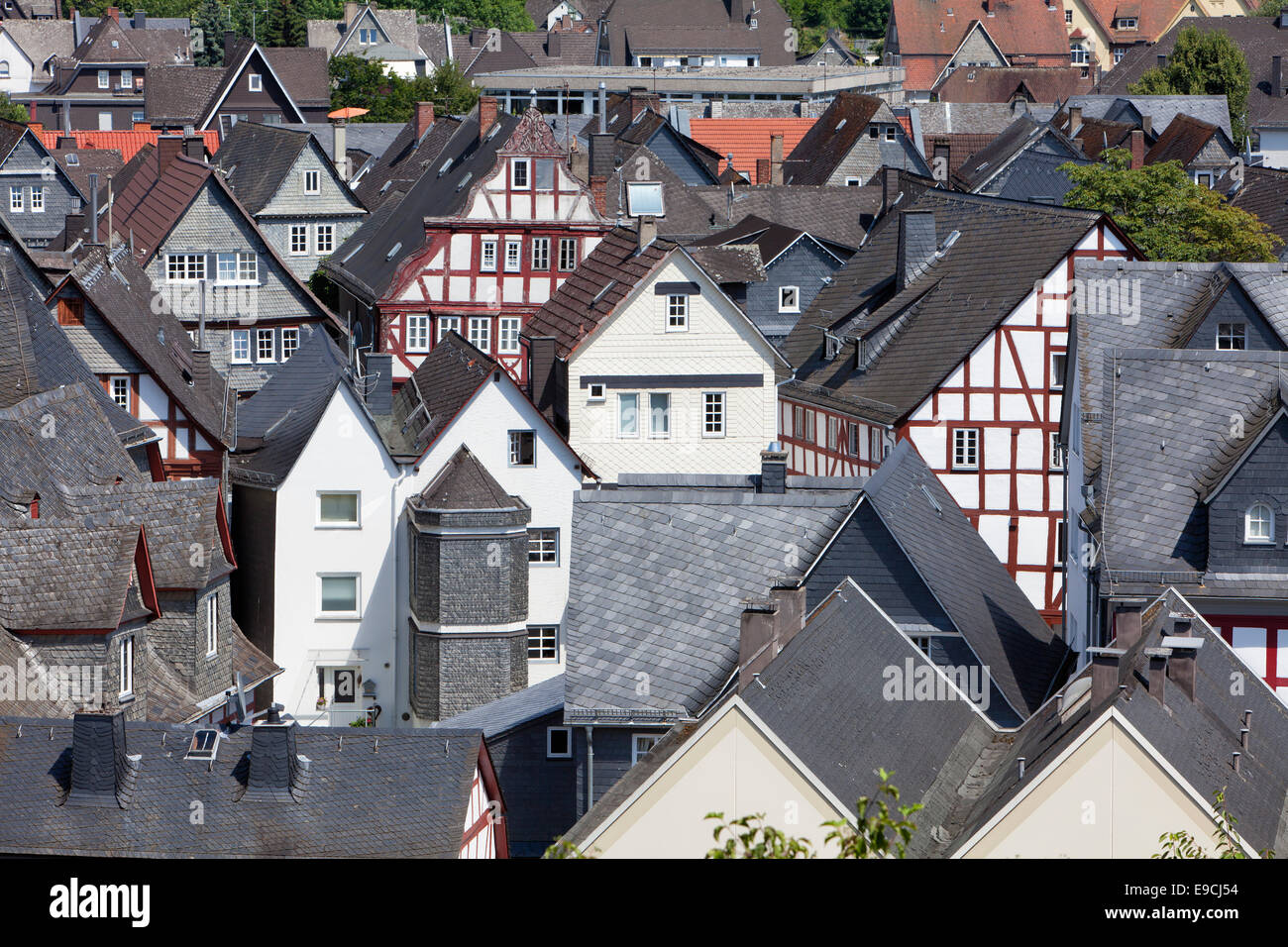 A view of Herborn, Hesse, Germany, Europe Stock Photo
