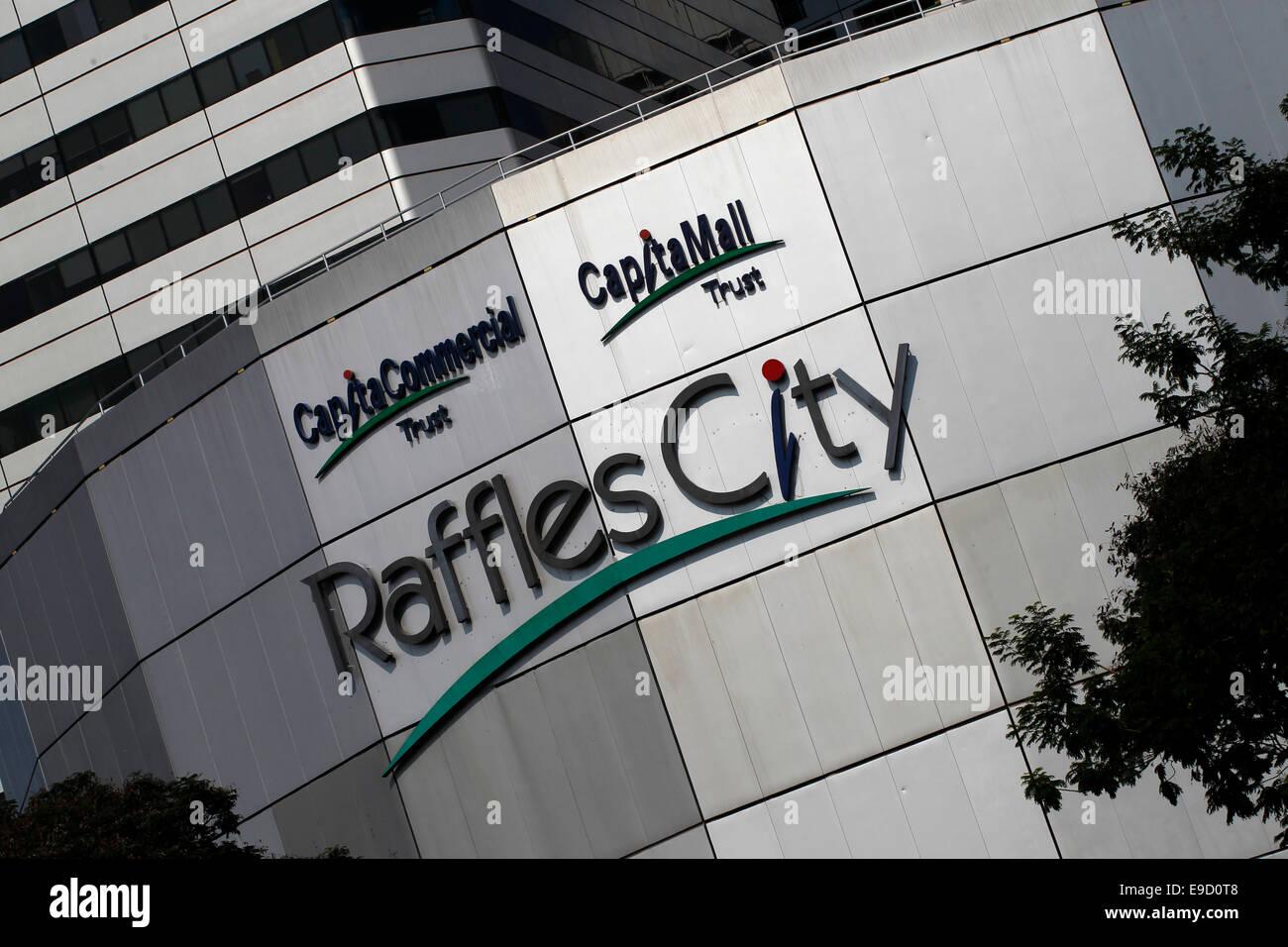 Raffles City, Singapore - Stock Image